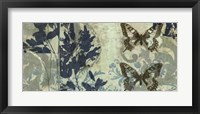 Framed Butterfly Reverie II