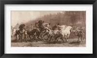 Framed Horse Fair