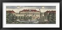Framed Dahlberg Swedish Estate IV