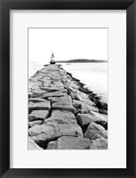 Framed Spring Point Light, Maine II