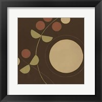 Small Autumn Orbit I Framed Print