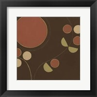 Small Autumn Orbit II Framed Print