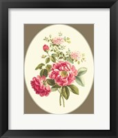 Framed Antique Bouquet I