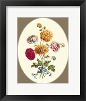Framed Antique Bouquet III