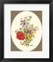 Framed Antique Bouquet IV