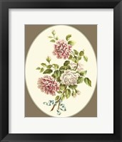 Framed Antique Bouquet V