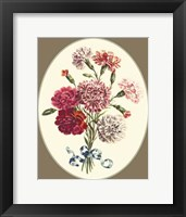 Framed Antique Bouquet VI