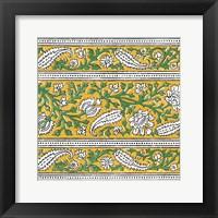 Framed Ceylon Squares III