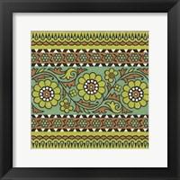 Framed Ceylon Squares IV