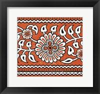 Framed Ceylon Squares V