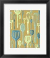 Framed Spring Cutlery I