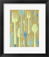 Framed Spring Cutlery II