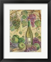 Framed Wine with Apples