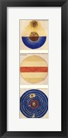 Framed Abstract Circles I