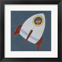 Framed Monkeys in Space I