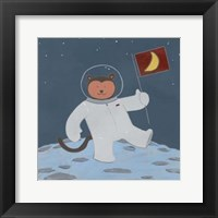 Framed Monkeys in Space III