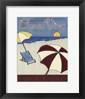 Framed Cabana Sign II