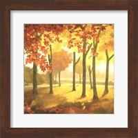 Framed Golden October II