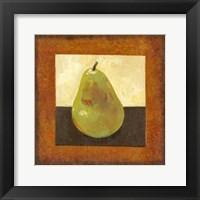 Framed Gilded Fruit I