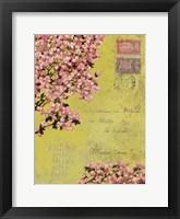Framed Postage VIII