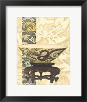 Framed Asian Tapestry I