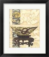 Framed Asian Tapestry I