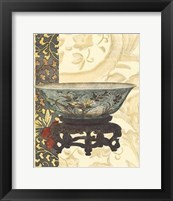 Framed Asian Tapestry III