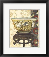 Framed Asian Tapestry IV