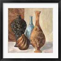 Framed Spa Vases I