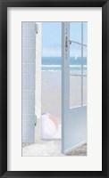 Framed Coastal Doorway I