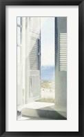 Framed Coastal Doorway II