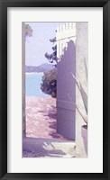 Framed Coastal Doorway IV
