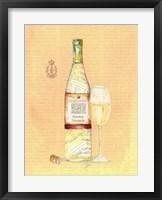Framed Wine Collage I