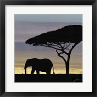 Framed Savanna I