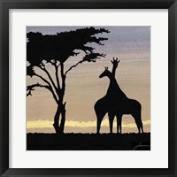 Framed Savanna IV