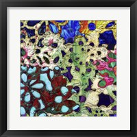 Framed Bejeweled Woodblock II