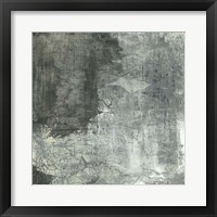 Framed Gray Abstract II