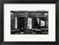 Framed Cafe Charm, Paris V