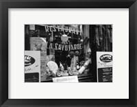 Framed Cafe Charm, Paris VI