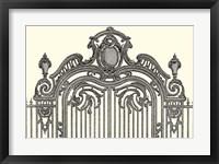 Framed Antique Briseux Gate II