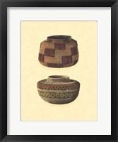 Framed Hand Woven Baskets III