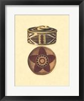 Framed Hand Woven Baskets IV