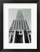 Framed Empire State Building I