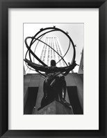 Framed Atlas at Rockefeller Center