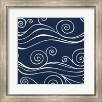 Framed Ocean Motifs III