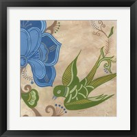 Songbird Fresco II Framed Print