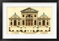 Framed Architectural Facade VI