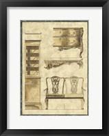 Framed Chippendale Furniture I