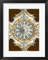 Framed Ornamental Rosette II