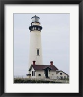 Framed Pigeon Point Lighthouse
